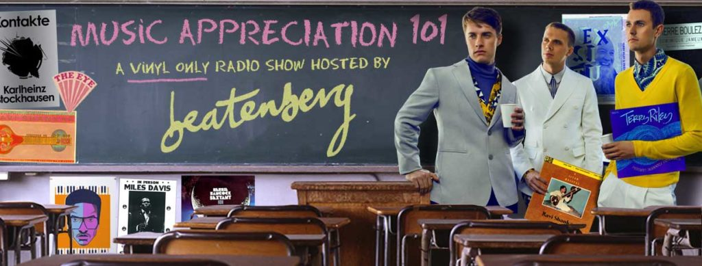 BEATENBERG - MUSIC APPRECIATION 101 [VINYL ONLY]