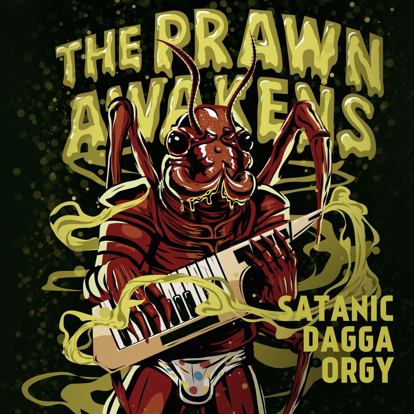 SATANIC DAGGA ORGY - THE PRAWN AWAKENS - ALBUM WALK THROUGH