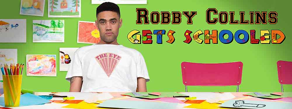 ROBBY COLLINS - ROBBY GETS SCHOOLED